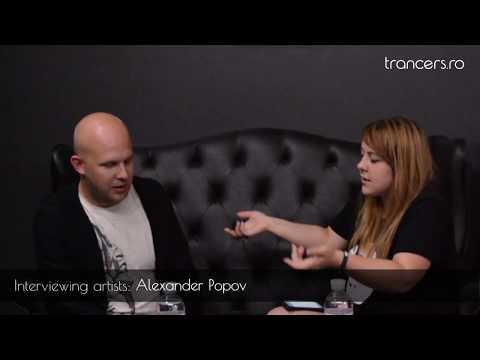 Alexander Popov Interview @ Trance Horizons, Chisinau
