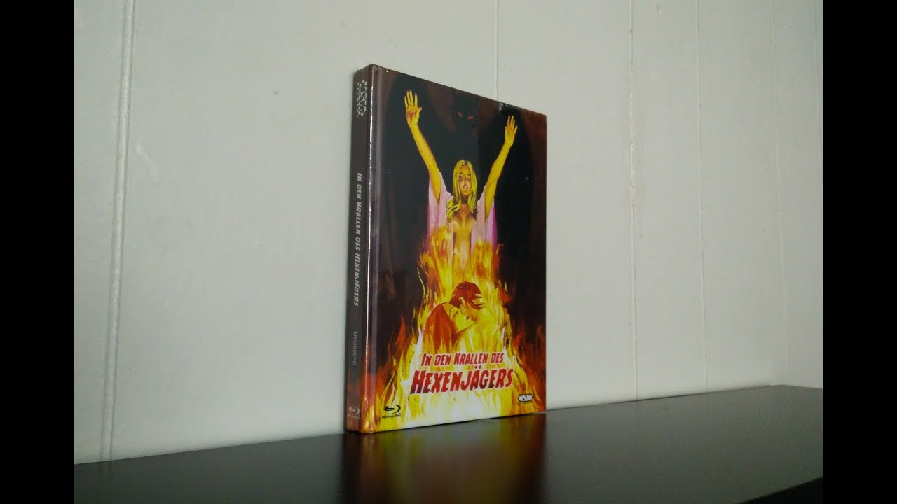 Download Blood On Satan's Claw Blu-Ray/DVD Mediabook Unboxing - Import From Germany Cover C