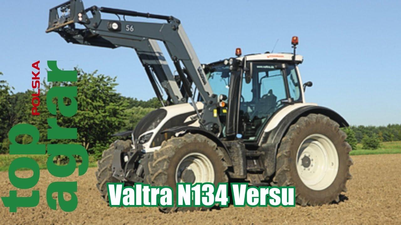 Valtra N134 Versu – test ciągników 120 KM – top agrar
