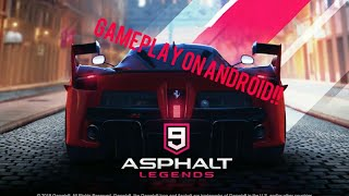 Asphalt 9 Android Gameplay