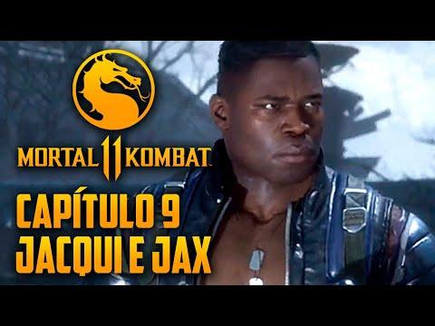 Mortal Kombat 11 Capitulo  09 - Jax BRUTO, Pai e Filha (PT-BR PS4 PRO)