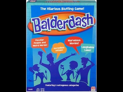 Balderdash 2015   Board Game Brawl