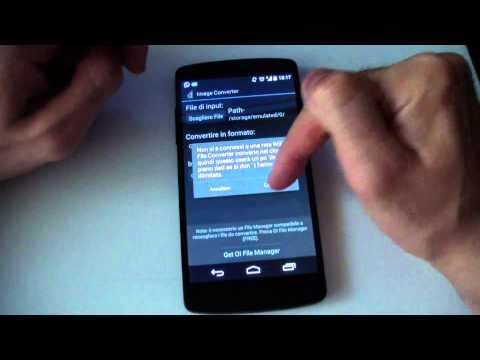 Come Convertire File Su Android
