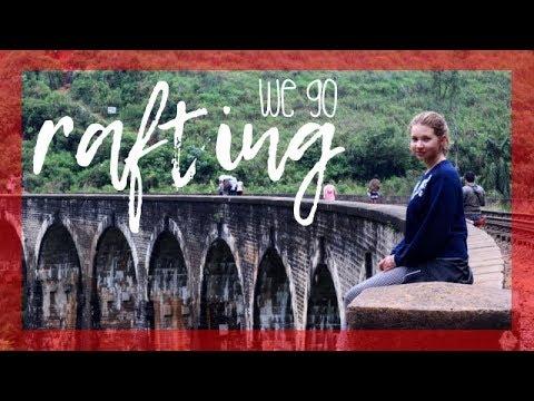 RAFTING & WATERFALL SLIDING 🛶 🌊 | Sri Lanka Vlog #11 | Katharina Müller