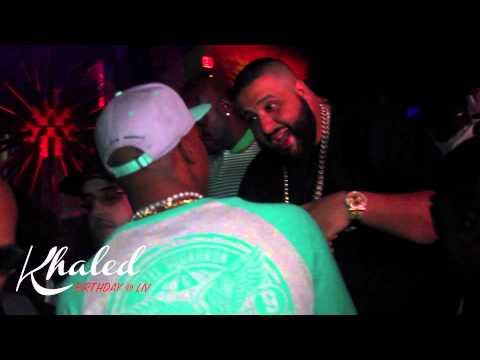 Exclusive: DJ Khaled Birthday Party @ Liv in Miami