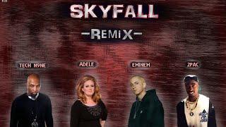 Adele, Eminem, 2Pac & Tech N9ne - SKYFALL [REMIX]