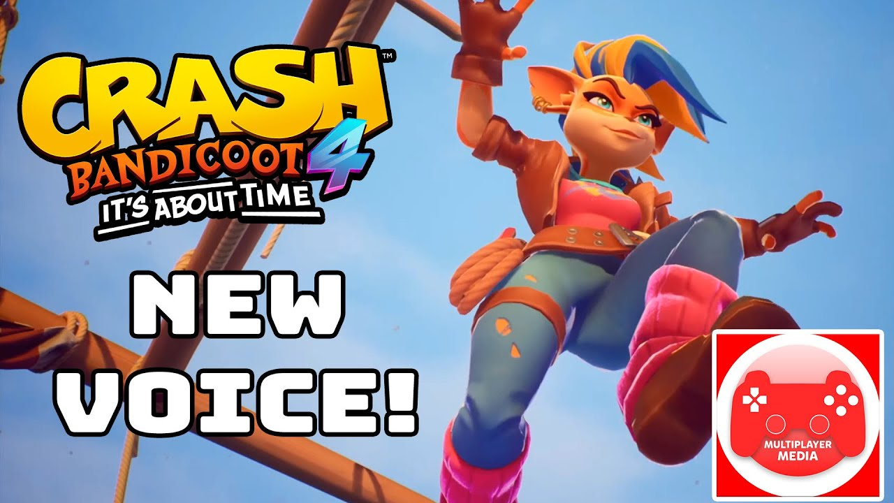 Tawna, N.Tropy & Coco's NEW Voice Actors? (Crash 4: It's About Time!)