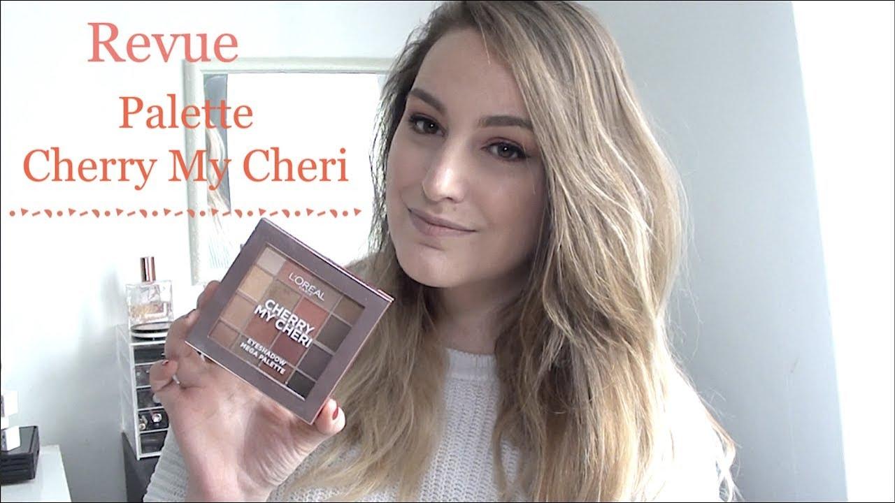 782e309ba9 REVUE PALETTE CHERRY MY CHERI L'OREAL | Que vaut-elle ? - YouTube