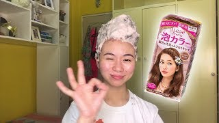 diy hair color liese creamy bubble color first impression and tutorial   paula angelica vlogs