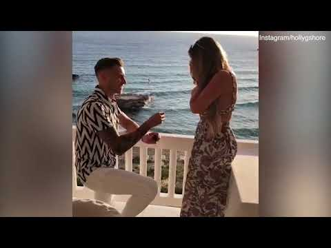 Jacob Blyth Surprises Girlfriend Holly Hagan As He Proposes To Her