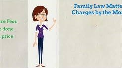 Attorney Fees in Riverside County - Family Law Matters.