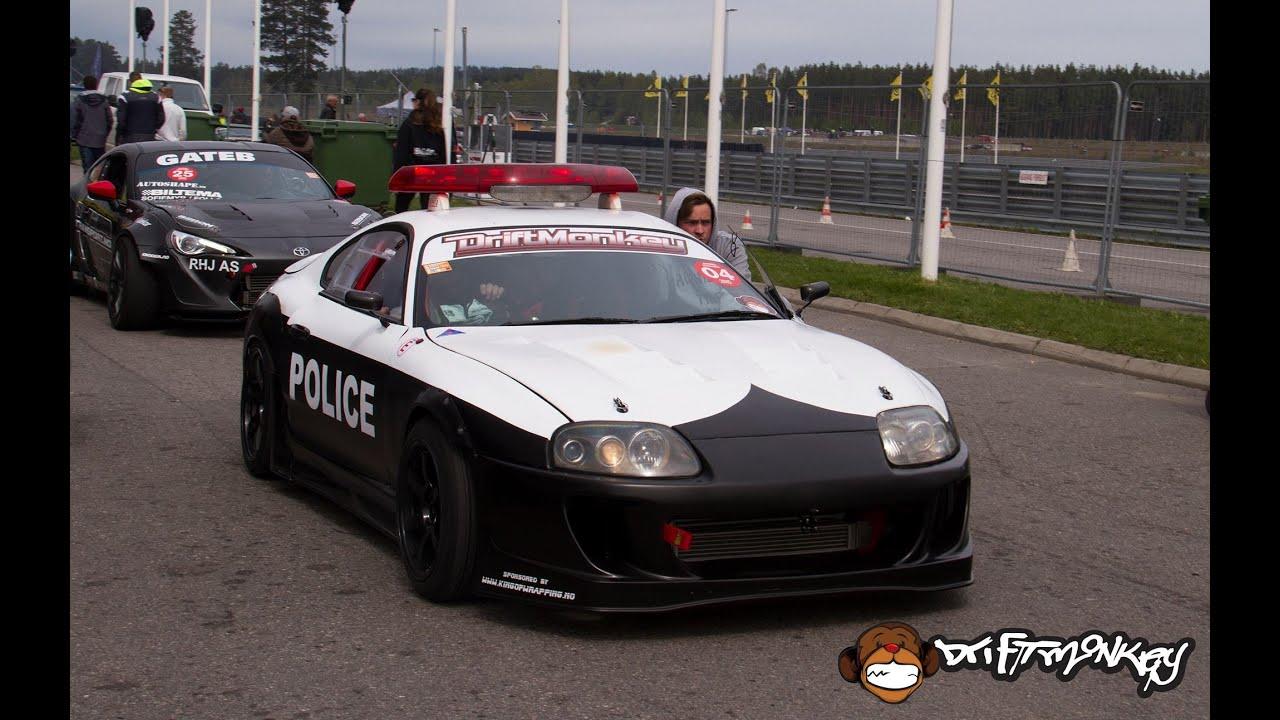 Driftmonkey Police Drifting - Supra Forza Horizon 2 - YouTube