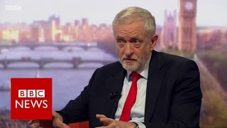 Jeremy Corbyn on whether Trident be in the Labour manifesto? BBC News