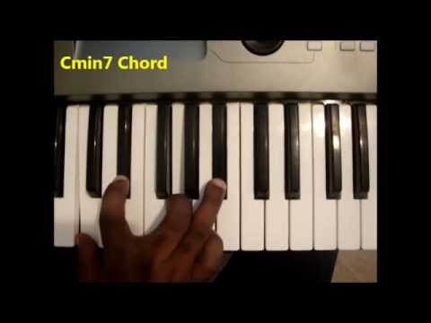 How To Play Cmin7 Chord C Minor Seventh Cm7 On Piano Keyboard