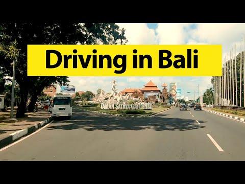 Driving In Bali |  Driving Around Kuta And Denpasar, Indonesia