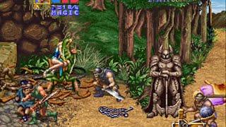 Golden Axe - The Revenge of Death Adder - ( Mame / Arcade ) - Full Playthrough - Dora