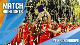 Lithuania v Spain - Highlights - Final - FIBA U20 European Championship 2016