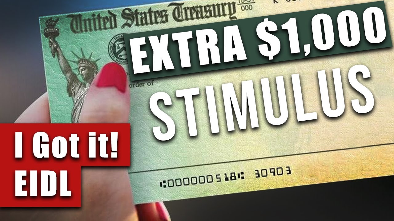 APPROVED! | How I got $1000 extra stimulus with EIDL Grant