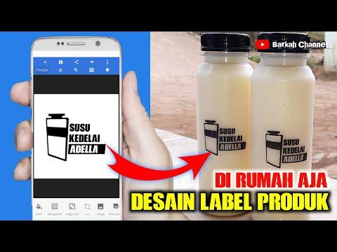 Cara Membuat Desain Logo Makanan Gemblong Cotot.