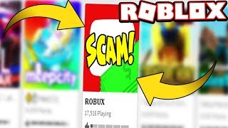 EXPOSING THE BIGGEST ROBUX SCAM IN 2018! *MID VID* (Roblox)