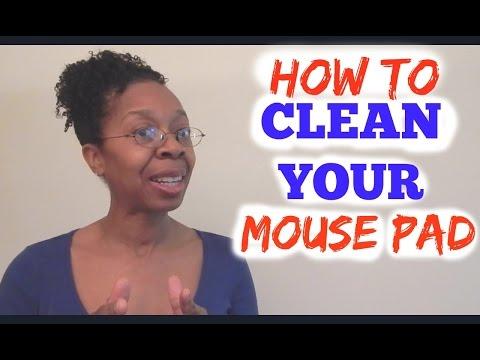 How to Clean or Wash Your Mouse Pad