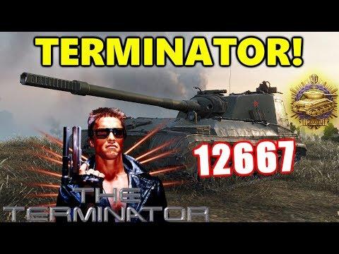 World of Tanks - Object 268 V4 - 13K DAMAGE 10 KILLS 9K BLOCK - THE TERMINATOR! thumbnail