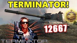 World of Tanks - Object 268 V4 - 13K DAMAGE 10 KILLS 9K BLOCK - THE TERMINATOR!