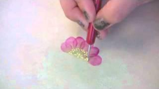 日本ヴォーグ社 「ペイントクラフトNo74」 アネモネと八重桜の描き方