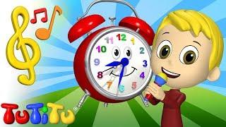 Songs & Karaoke for Children |  Clock