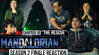"The Mandalorian 2x8 FINALE REACTION! ""Chapter 16: THE RESCUE"" 