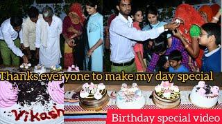 Birthday special video    mr.v birthday