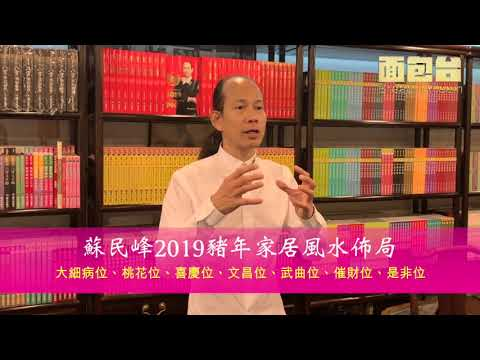 蘇民峰2019豬年家居風水佈局
