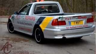 BMW 5-Series pickup truck!