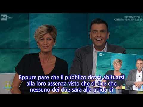 """""""Ora basta!"""". UnoMattina, Roberto Poletti ripreso in diretta da Valentina Bisti"""