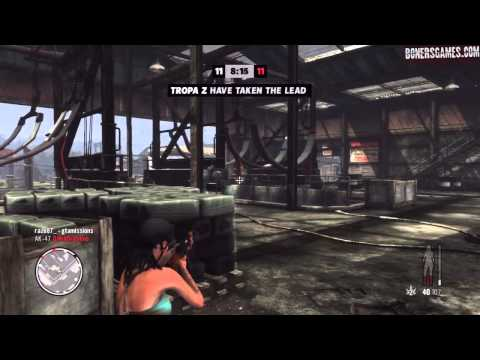 Max Payne 3  ps3  Online MP  TDMx2 Silenced AK!