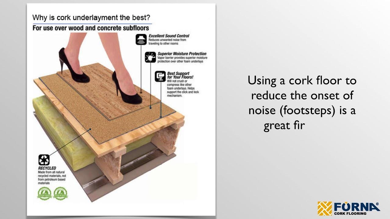 Acoustic Insulation Cork Underlay