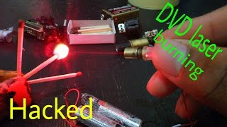 DVD Laser Burning HACKED!!!