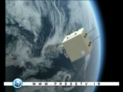 The first iran sattelite omid was sent to the orbit - Presstv