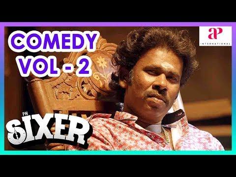 Sixer Movie Comedy Scenes | Part 2 | Vaibhav Reddy | Sathish | Pallak | Radha Ravi | KPY Ramar