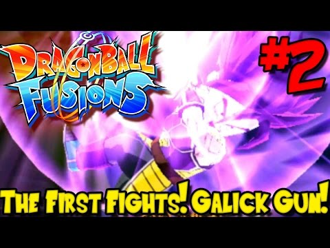 THE FIRST FIGHTS! GALICK GUN! | Dragon Ball Fusions (Gameplay / Playthrough) - Episode 2