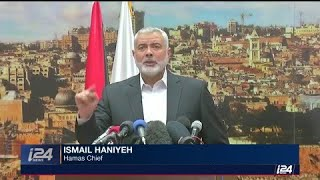 Top Hamas leader calling for a third Intifada 'in the face of the Zionist enemy/'