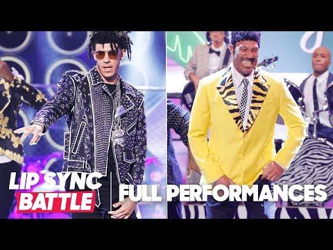 "Lonzo Ball's ""Bad and Boujee"" vs. LaVar Ball's ""Jungle Love""   Lip Sync Battle"