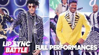 "Lonzo Ball's ""Bad and Boujee"" vs. LaVar Ball's ""Jungle Love"" | Lip Sync Battle"