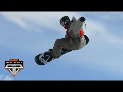 How does Shaun White get such huge air? | Sport Science | ESPN