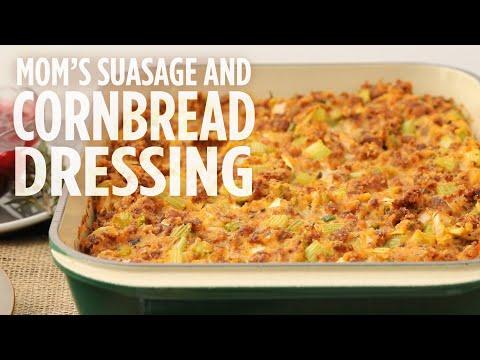 How to Make Mom's Sausage & Cornbread Dressing | Thanksgiving Recipes | Allrecipes.com