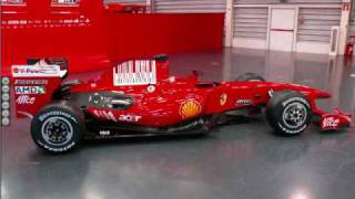 The New 2009 Ferrari F60 Videos