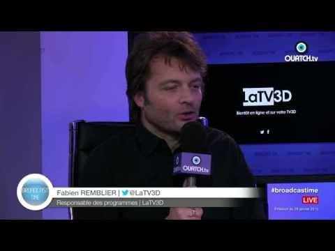 Broadcast Time S02E16 : LaTV3D, la future 1ère chaîne de TV en 3D en France