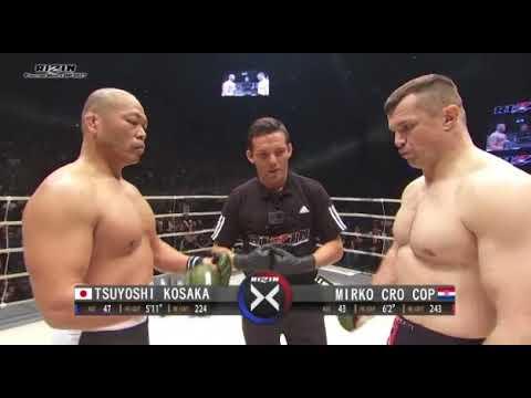 Mirko Cro Cop vs Tsuyoshi Kosaka - Rizin 2017 (Full Fight)