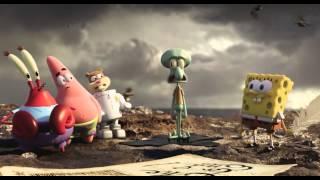 """""""Губка Боб в 3D"""" русский трейлер к фильму 2015 HD 1080p"""