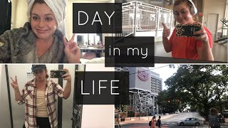Day in my College Life | working out, old navy, & cleaning/packing